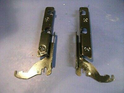 SET FITS DOZENS OF Dishwashers Metal Door Hinge 8534854 8534853 8269011 8269012