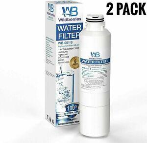 AquaFresh Replacement Water Filter for Samsung RF24FSEDBSR Refrigerators 3 Pack