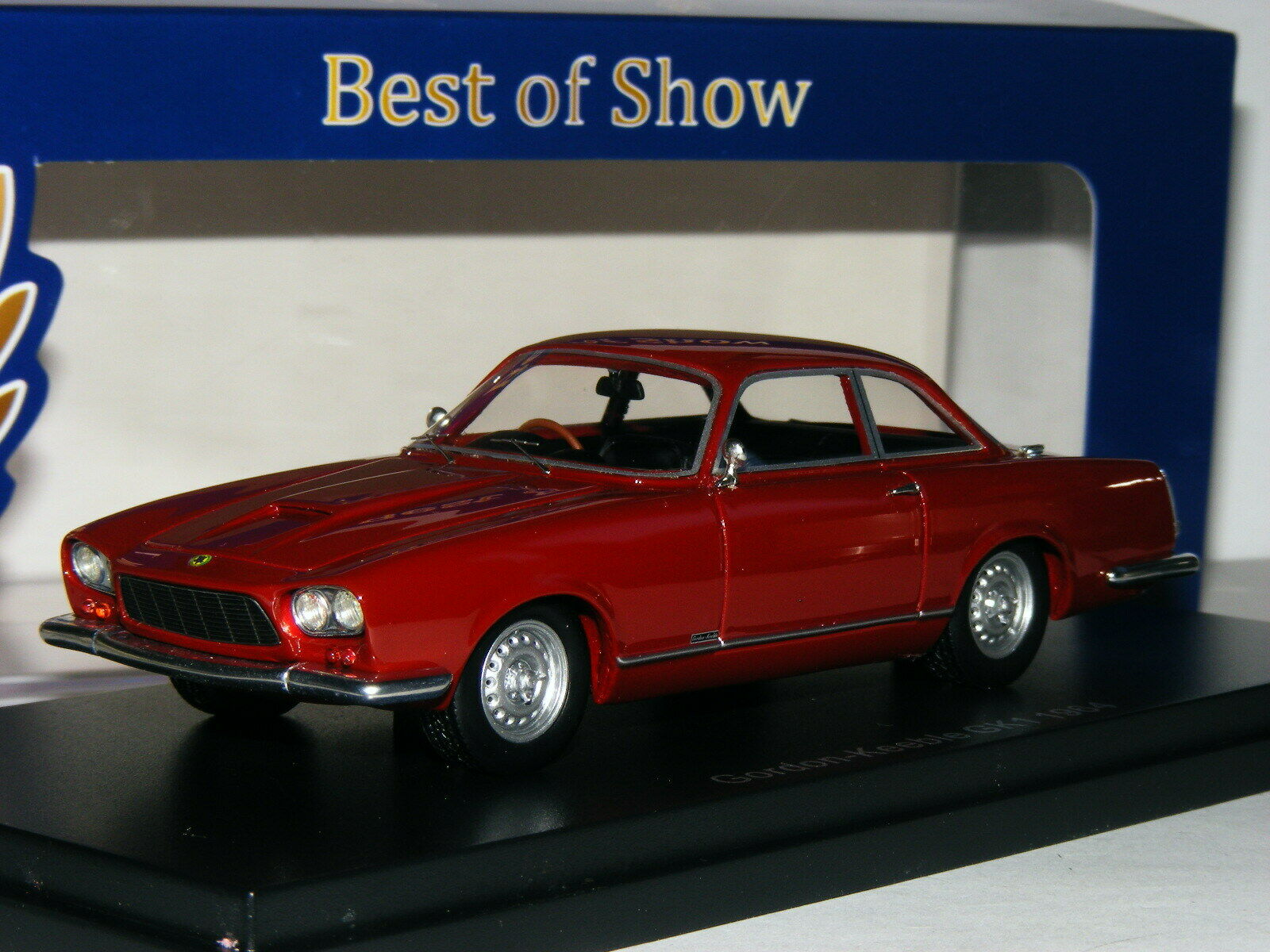 BEST of Show BOS43775 1964 GORDON-Keeble GK1 Coupe Rosso Scuro