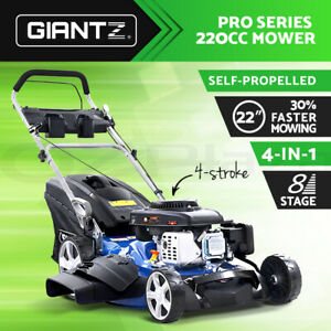 Giantz-Lawn-Mower-Self-Propelled-4-Stroke-22-034-220cc-Petrol-Mower-Grass-Catch