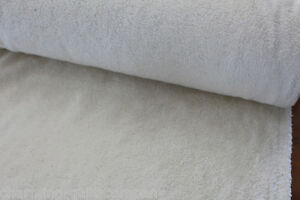 Baumwoll-Teddy-Fell-NATUR-creme-beige-150-cm-breit-Pluesch