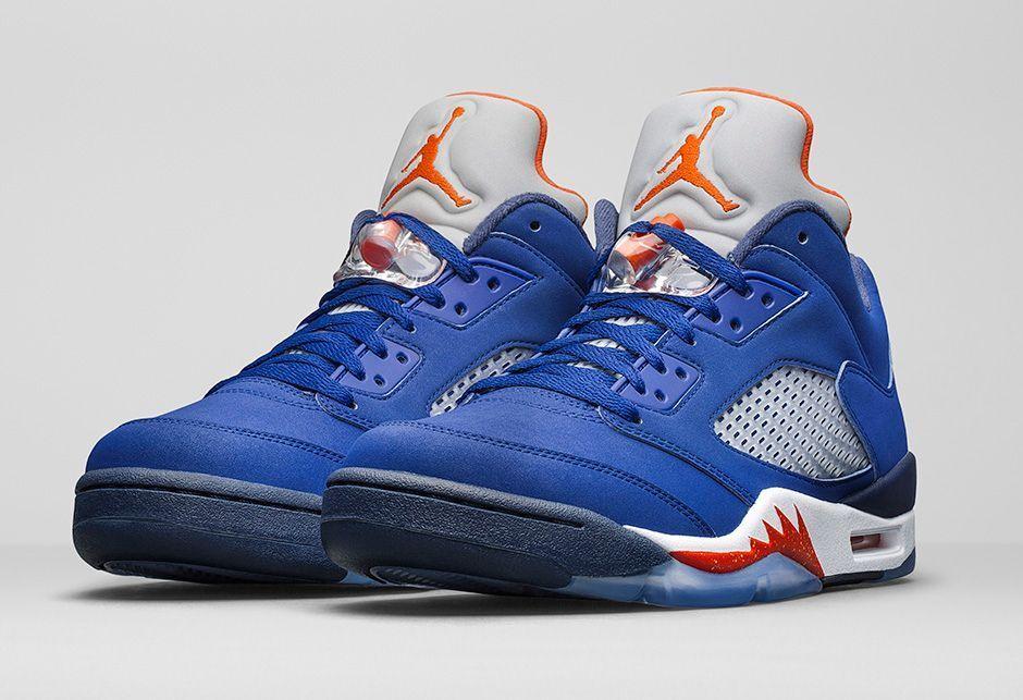2016 Nike Air Jordan 5 V Retro Low Knicks Cavs Size 12. 819171-417 1 2 3 4 6 7