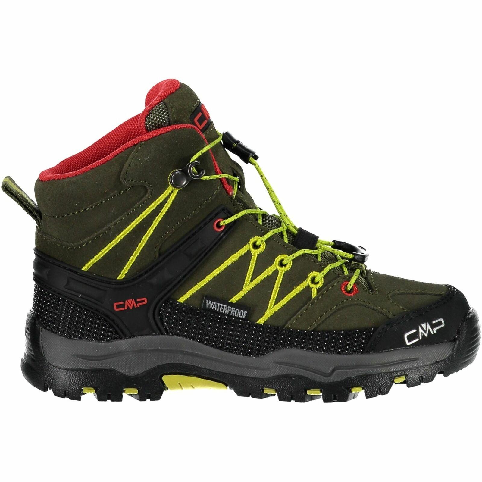 CMP trekking zapatos  Al aire libreschuh Kids Rigel mid trekking zapatos WP verde claro  auténtico