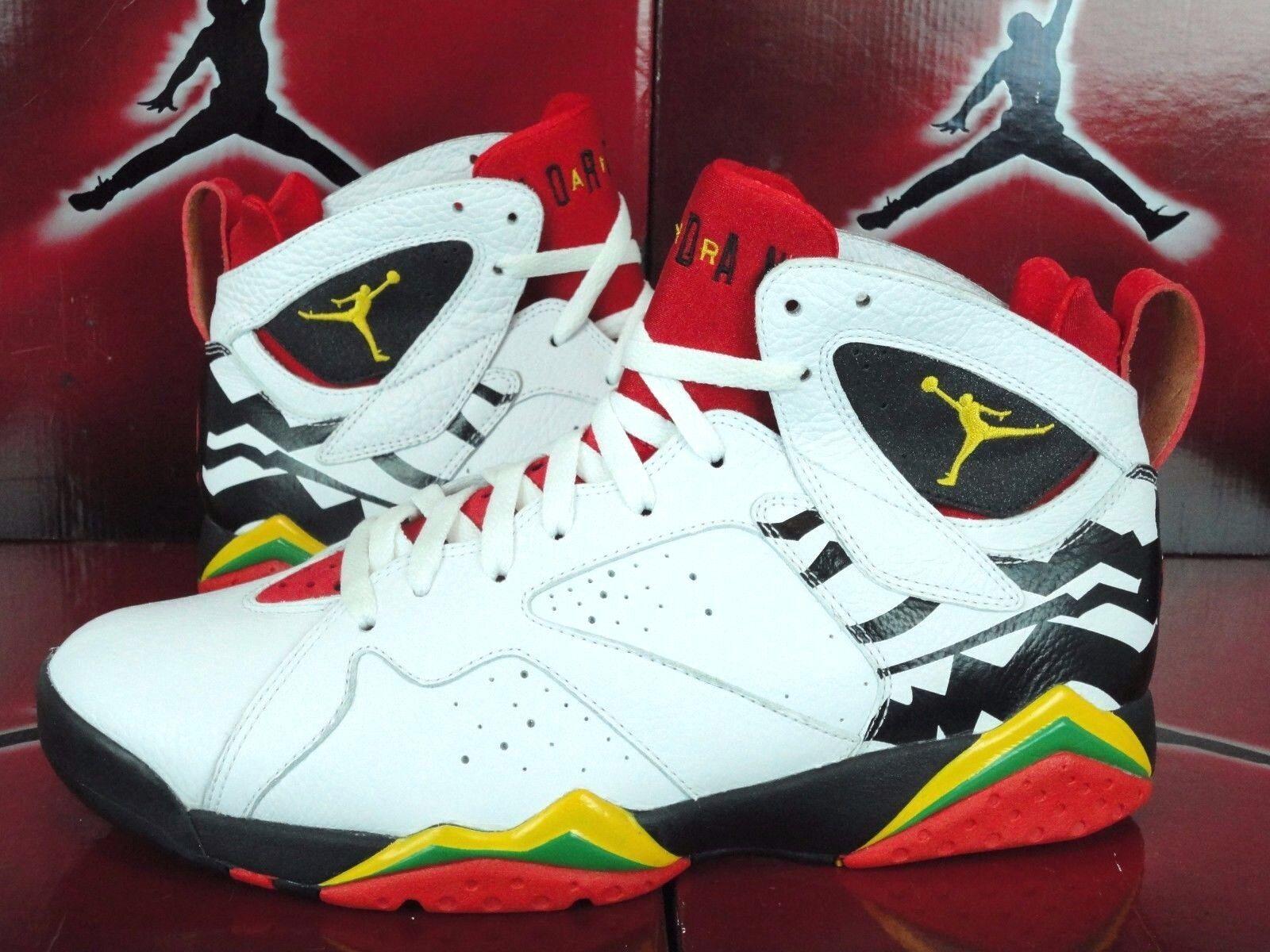 Nike Air Jordan VII 7 Retro PREMIO BIN WHITE 23 WHITE BIN RED BLACK 436206-101 11 cac1a6