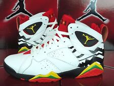 Nike Air Jordan VII 7 Retro PREMIO BIN 23 WHITE RED BLACK 436206-101 11 zz
