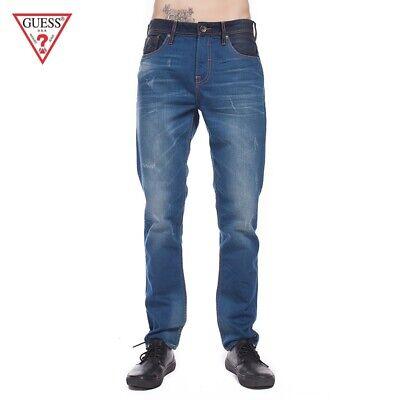 Jeans GUESS LOS ANGELES Taglia Size 40 Uomo Pantalone Skinny