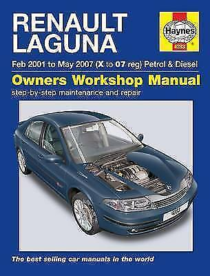 1 of 1 - Renault Laguna Haynes Manual Petrol and Diesel Service and Repair: 2001 to 2007