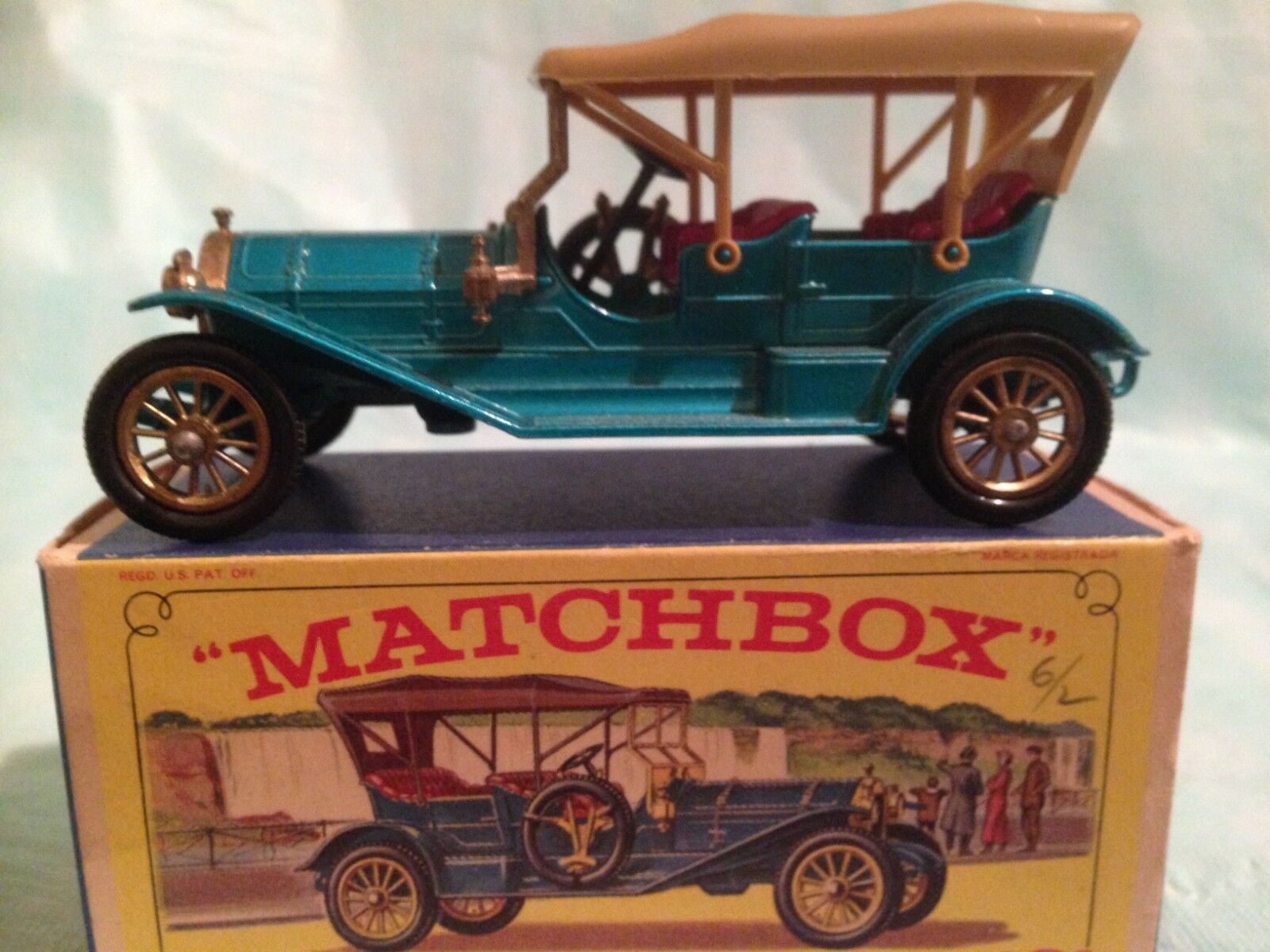 Matchbox Series Models of Yesteryear No Y-121909 Thomas Flyabout