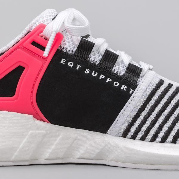 Adidas eqt unterstützung 93 / 17 weißen turbo rote rote rote größe 11,5.ba7473 ultra yeezy ankurbeln 8a917e