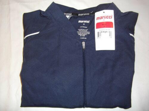 Marucci adulte Team Manches Courtes 1//4 Zip Batteur Veste Noir Rouge Bleu Marine Taille M