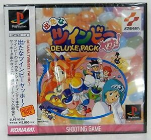 USED-PS1-PS-PlayStation-1-came-out-Do-Twinbee-Yahho-PACK-DELUXE