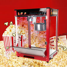 Profi Elektro Popcornautomat Popcornmaschine Popcorn Maker 8.OZ 1370W EU Plug