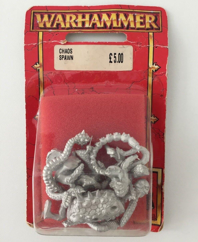 WARHAMMER CHAOS SPAWN NURGLE SLAANESH KHORNE TZEENTCH METAL BLISTER (RED 574)