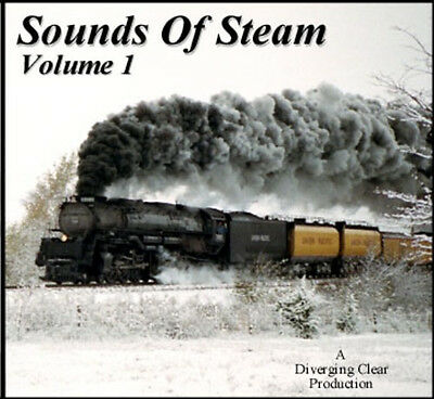 Train Sounds On CD: Sounds Of Steam, Volume 1 | eBay