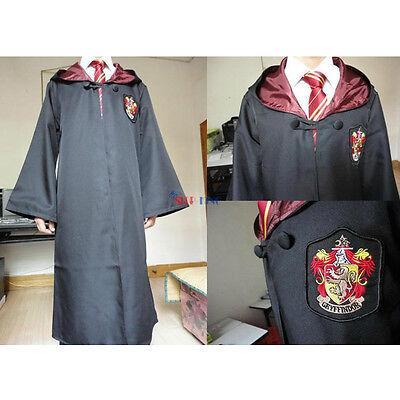 Harry Potter Gryffindor/Slytherin/Ravenclaw Hogwarts Manto Bata o Bufanda o