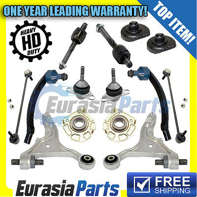 NEW VOLVO SUSPENSION KIT Tie Rods Ball Joints Sway Bar Links Control Arms
