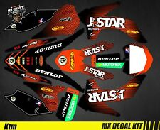 Sx-F MX Decal Kit For KTM SX Black Series Kit Deco Motorcycle For