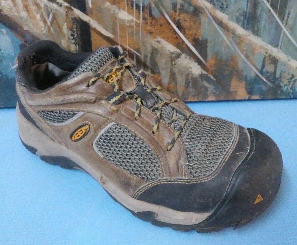 KEEN Men's Steel Toe Work shoes Sz 10.5 EH
