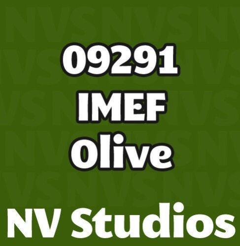 IMEF Olive Reaper Master Series Paint 09291 Core Colors Try on Bones!