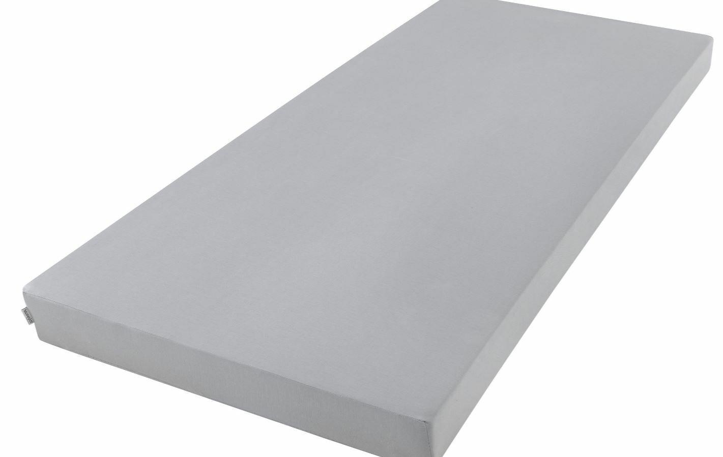 Matratze mit Bezug Hoppekids grau 70 x 190 x 9 cm  819956