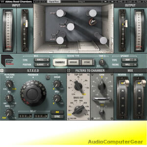 Details about Waves ABBEY ROAD CHAMBERS Echo Tape Delay Reverb Audio  Software Plug-in NEW
