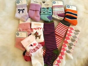 New GYMBOREE Girl/'s Socks 2 Pair GREEK ISLE STYLE Size 0 6 12 24 months 2T 3T