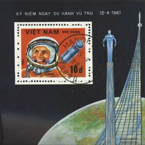 Vietnam-Block16-kompl-Ausg-gestempelt-1983-Interkosmosprogramm
