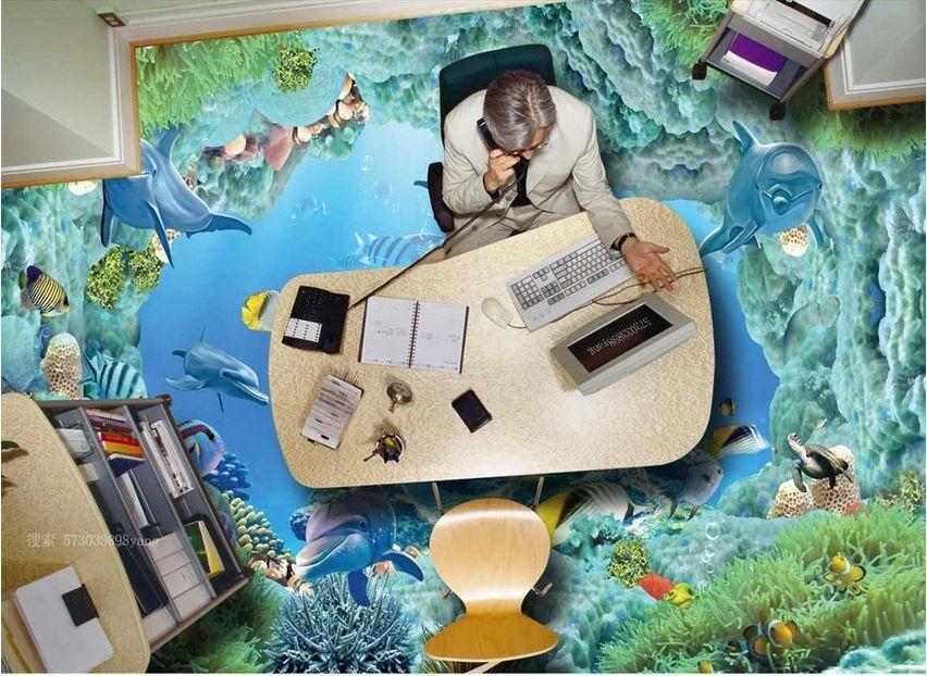 3D water fish sea 33 Floor WallPaper Murals Wall Print Decal 5D AJ WALLPAPER