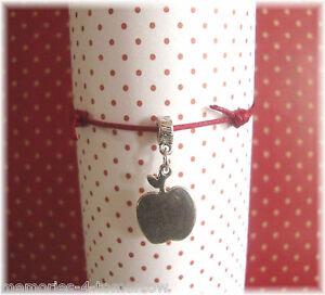 Apple-Charm-Bracelet-Teacher-Gift