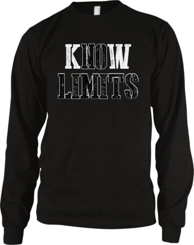 Know Limits No Do It Anything Go For Can Possible Never Stop Gym Men/'s Thermal