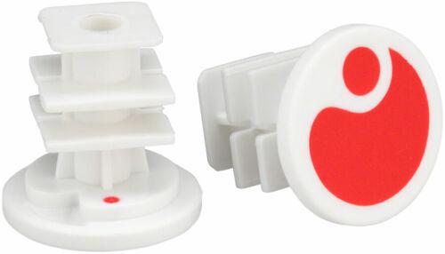 Ergon End Plugs for GA2//GA2Fat//GA3 Red