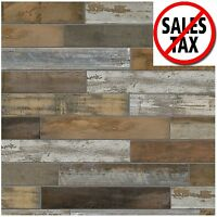 Porcelain Floor Tile Wood Flooring Shower Wall Kitchen Vintage Bedroom Porch 1d