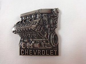 Chevrolet-Indy-V8-Engine-Collector-Lapel-Pin-IndyCar-Series-IRL-Chevy-GM