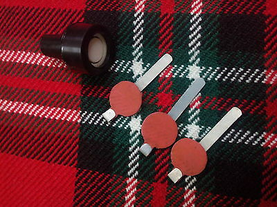 Great Highland Bagpipes Blow Pipe Flapper Valves 6 Pcs//Blowpipe Rubber Valves
