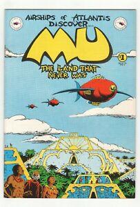 MU-The-Land-That-Never-Was-Kitchen-Sink-1978-Underground-Comix-George-Metzger