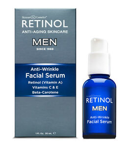 NEW Retinol for Men Facial Serum, Anti-Aging, Anti-Wrinkle