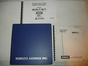 kobelco 909 k909 k909 ii 909lc ii excavator shop manual parts rh ebay com