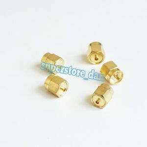 1Pcs-Adapter-SMA-male-to-IPX-U-fl-male-plug-connector-straight-Golden