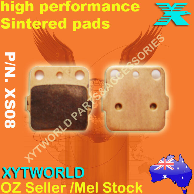 XS08 Sintered Brake pads for HONDA KAWASAKI SUZUKI YAMAHA ARCTIC CAT