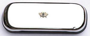 Abeille émail Design Apiculteur Lunettes Spectacle Case Cadeau Prix Gravure Gratuite 028-afficher Le Titre D'origine