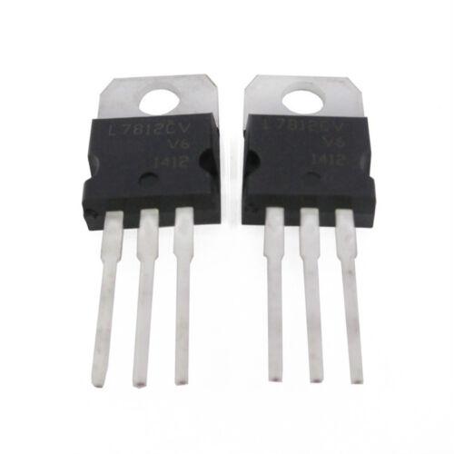 10Pcs L7906 L7906CV 7906 6V 1.5A TO-220 Spannungsregler Voltage Regulator