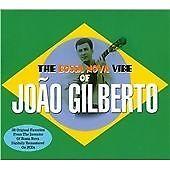 1 of 1 - The Bossa Nova Vibe Of Joao Gilberto [Double CD], Joao Gilberto, Very Good Doubl