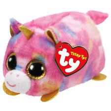 "TY Teeny Tys Star Unicorn Beanie Babies 3"" Stuffed Plush Toy Stackable Tsum Tsum"