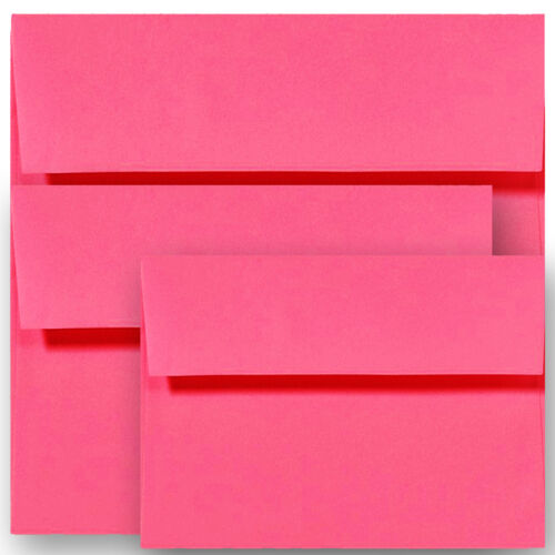 Multi Color Astrobrights /&more Envelopes for Card Invitation Response A1A2 A6 A7