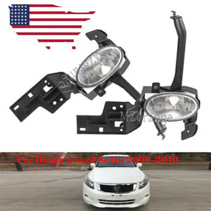 Left Right Front Fog Driving Light Lamp For Honda Accord Sedan 2008 2009 2010