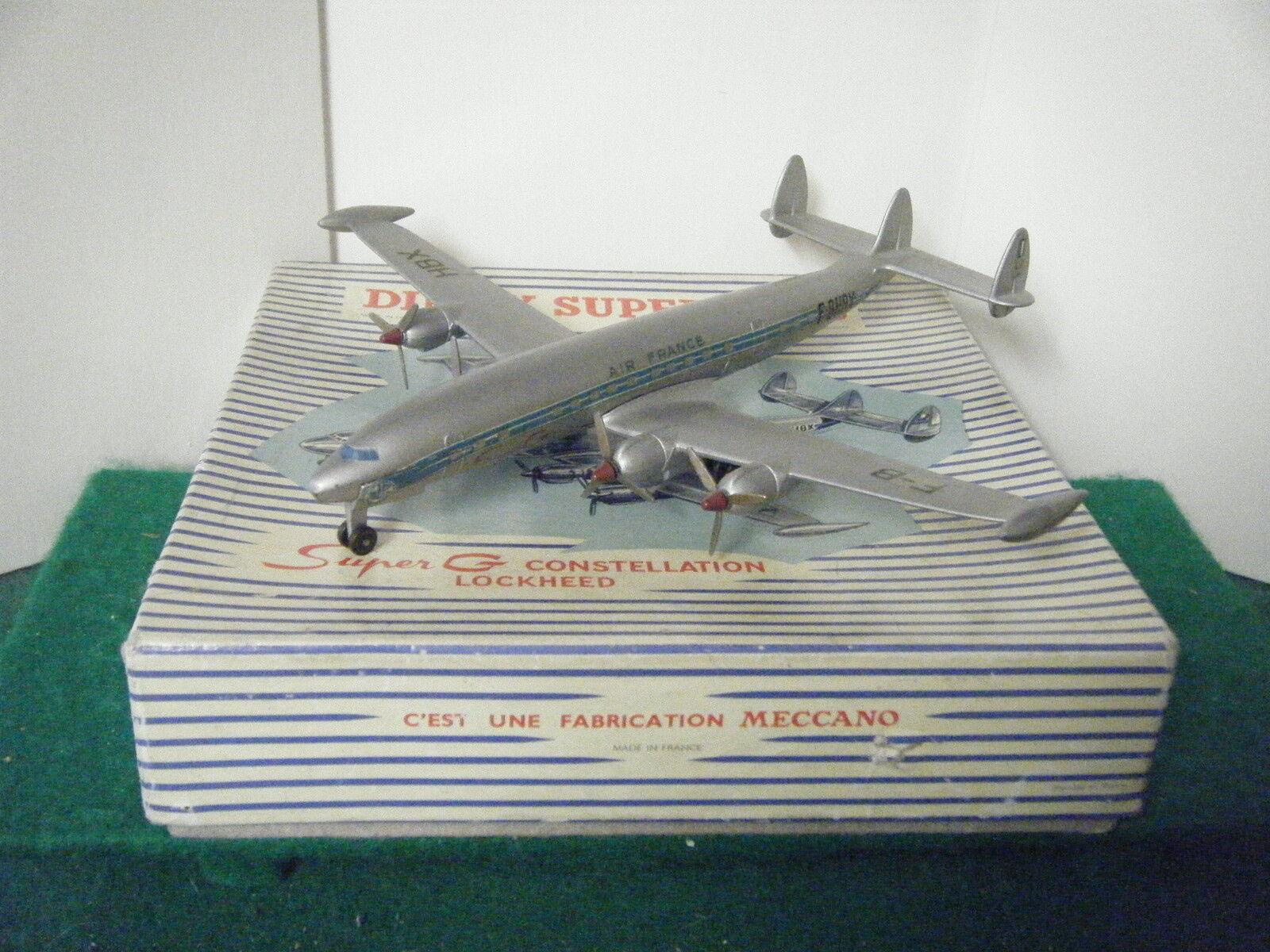 ¡No dudes! ¡Compra ahora! Francés Francés Francés Dinky no  60c  súper G Constellation Lockheed avión  (Air France)  ventas al por mayor