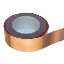 Shielding Single Conductive Adhesive Copper Foil Tape 1//2inch 12mm x30mX0.06mm