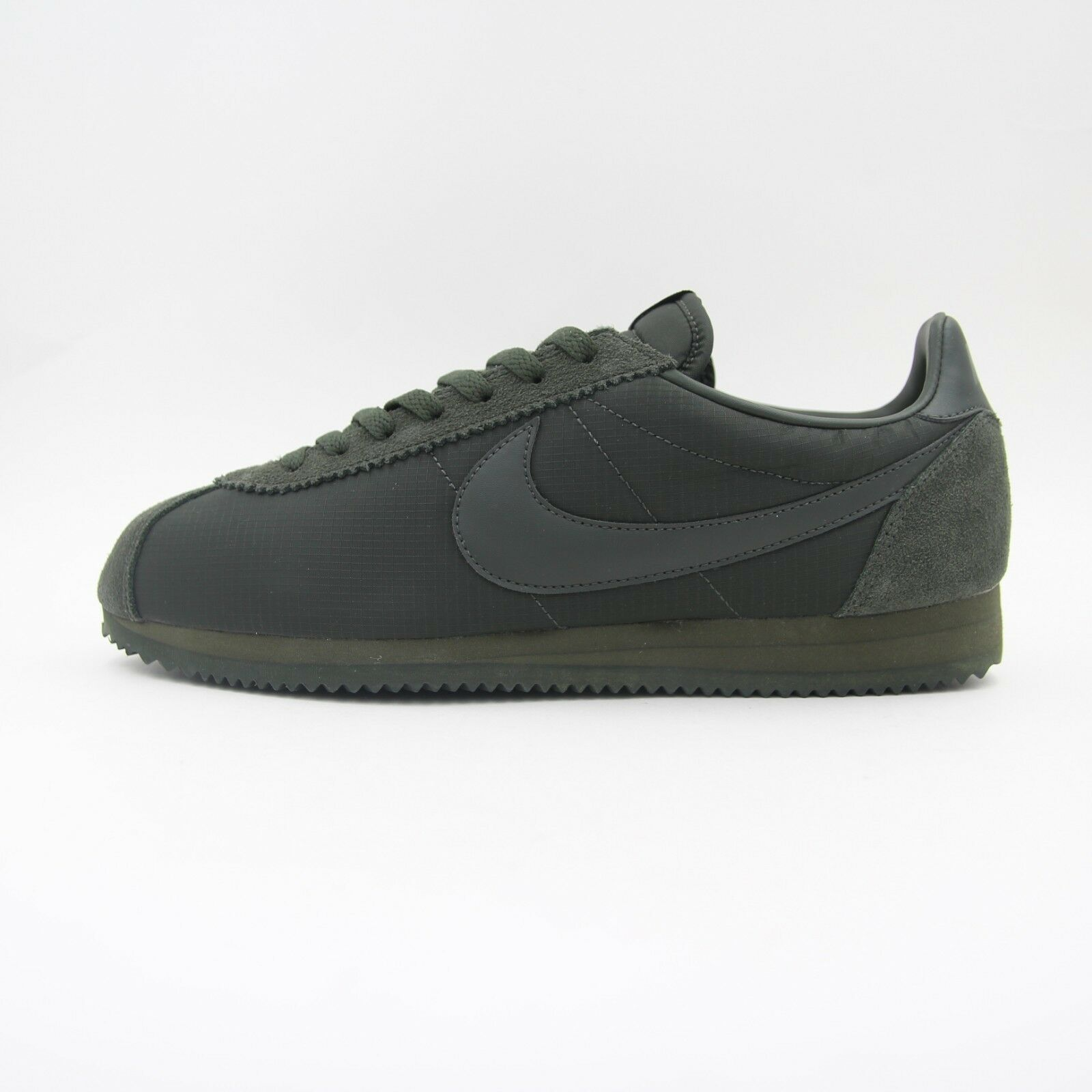 New Nylon Hommes Nike Classic Cortez Nylon New Ripstop Trainers Olive Green 10.5 807472 301 a5a7db