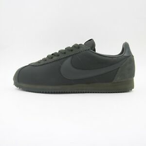 1c83ebce54a9 New Mens Nike Classic Cortez Nylon Ripstop Trainers Olive Green UK ...