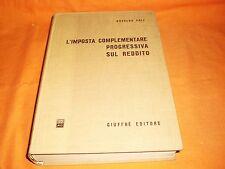 poli l'imposta complementare progressiva sul reddito giuffre 1969 pagg 815